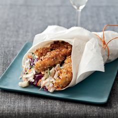 Hot-and-Crunchy Chicken Cones | Food & Wine