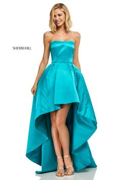 545881611fe Check out the deal on Sherri Hill 52114 High Low Prom Dress at French  Novelty High