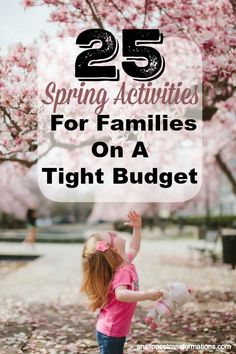 Looking for frugal ways to enjoy the spring weather as a family? Check out this list of 25 Spring Activities for Families on a Tight Budget. Spring Activities, Family Activities, Diy Spring, Spring Summer, Living On A Budget, Frugal Living, Frugal Family, Money Saving Mom, Family Night