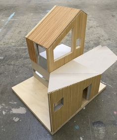physical working model - house extension + remodelling - Vale of Glamorgan, South Wales - Blee Halligan - 'Ugly House to Lovely House' - Russell House, 1960s House, House Extensions, South Wales, Model Homes, New Life, Cladding, Being Ugly, Home And Family