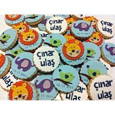 #wellcomebaby #itsaboy #elephant #lion #leo #bird #baby #blue #cookies…