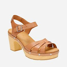 Ledella Trail Beige Leather - Clarks® Sandals for Women - Clarks® Shoes