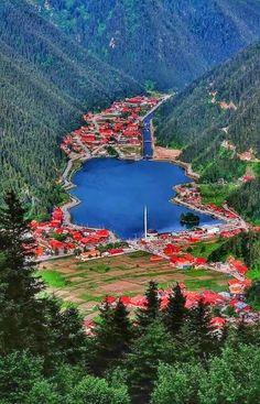Uzungöl Trabzon. Turkey.
