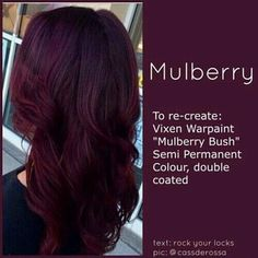Pelo Color Borgoña, Pelo Color Vino, Curly Hair Styles, Natural Hair Styles, Gorgeous Hair, Hair Looks, New Hair, Hair Inspiration, Hair Makeup
