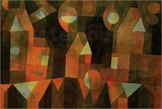 Houses by the Bridge Posters by Paul Klee