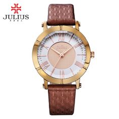 New Julius Lady Woman Wrist Watch Retro Fashion Hours Business Dress Bracelet Leather School Girl Birthday Gift 789 //Price: $US $17.20 & FREE Shipping //     #hashtag1
