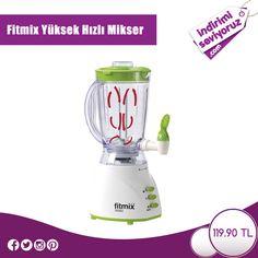 Fitmix Yüksek Hızlı Mikser, sağlıklı içecekler hazırlayabileceğiniz kusursuz bir ürün!  #indirimiseviyoruz #indirim #Fitmix #sağlık