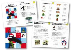 Le loup qui n'aimait pas Noël Last Christmas, Xmas, French Lessons, Christmas Printables, Preschool, Writing, Education, Blog, Cycle 2