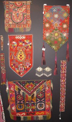 Uzbek nomads embroidered tent decoration Lakai 19th.... The Arts scene in San Francisco