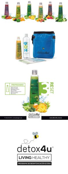 Detox4u #branding #logo #design #detox #packaging #graphic #design #studio #fit #healthy