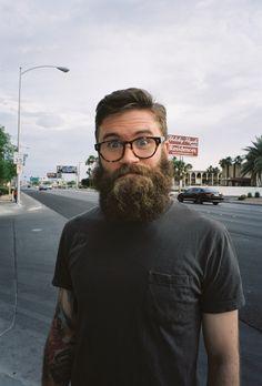 apex35mm:  Beard Committed // 35mm Film // Las Vegas, NV 2014