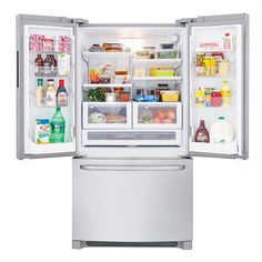 Frigidaire French Door Bottom-Freezer Refrigerator FFHN2740PS 26.6 cu. ft. Stainless Steel - Sears