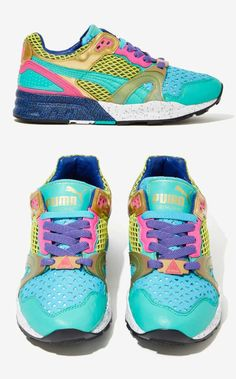 Bright and Beautiful Sneakers!