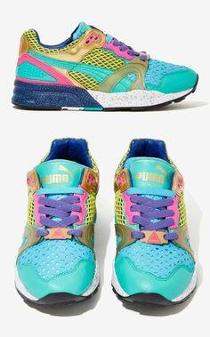 Bright Puma Sneakers!