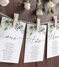 Wedding Table Assignments, Wedding Table Seating, Diy Wedding Table Numbers, Wedding Table Cards, Table Seating Chart, Head Table Wedding Decorations, Reception Seating Chart, Wedding Tables, Wedding Centerpieces