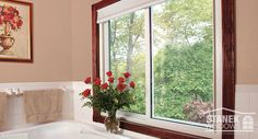 Stanek sliding windows are available in 2 & sliders in a variety of colors, styles & glass options. View our sliding window photo gallery to learn more. Interior Windows, Interior Walls, Bathroom Interior, Interior Design, Diy Interior Projects, Bathroom Jars, Master Bathroom, Oval Glass Coffee Table, Windows Photo Gallery