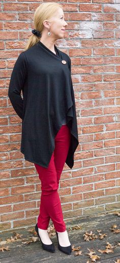 9224cf811c2336 What the Wroot Wore Wednesday  Wrap Cardigan Part 2