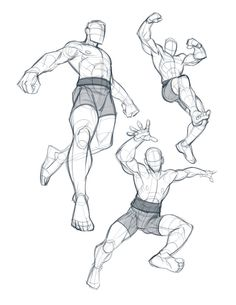 Some warm-up figure study sketches from yesterday 😁 Hope you've all had a great weekend! I'm so excited to start the week out tomorrow 🙌… Action Pose Reference, Body Reference Drawing, Human Figure Drawing, Art Reference Poses, Action Poses, Anatomy Reference, Anatomy Sketches, Anatomy Drawing, Anatomy Art