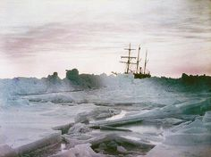 Sir Ernest Shackleton's ill-fated 'Endurance' voyage, as part of the British Imperial Trans-Antarctic Expedition, 1914-1917.