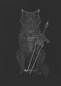 Sif, Dark Souls Available as a print, phone cover and more at society6.com/michaelclulee & www.redbubble.com/people/michaelclulee