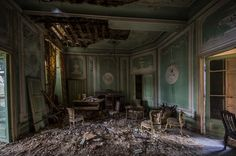 abandonedbehavior: chateuax A by ~BramvdZPhotography