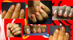 cute nail art on short nails