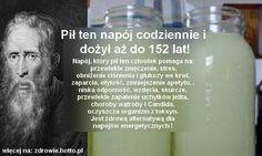 Pił ten napój codziennie i dożył aż do 152 lat! Healthy Juice Drinks, Healthy Juices, Smoothies, Health And Beauty, Health, Smoothie, Smoothie Packs, Fruit Shakes