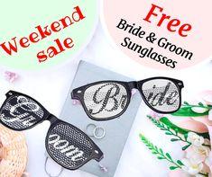NEW Wedding Bride and Groom Sunglasses Set FREE SHIPPING