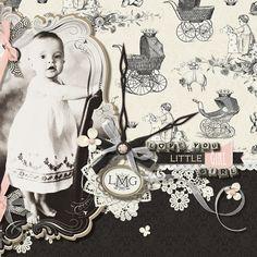 Hello Baby Collection Biggie, designed by Brandy Murry, Scrap Girls, LLC digital scrapbooking product designer