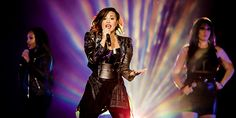 Demi Lovato performs in front of more than 20,000 people at Staples Center in Los Angeles, CA on September 27th.