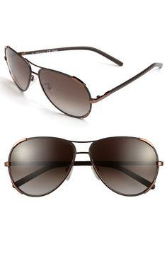 Chloé 60mm Aviator Sunglasses