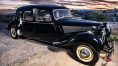 Alquiler de coche clásico para Madrid, Citröen 11 Limusine 1.956