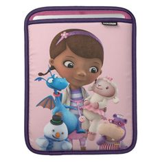 Doc McStuffins and Her Animal Friends. Regalos, Gifts. #fundas #sleeves