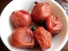 Weird Food #3 Umeboshi Sour Plum
