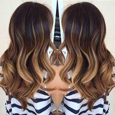 Básicamente tu cabello se convertirá en un mar de diferentes tonos de color.
