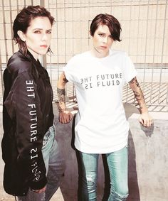 The future is fluid. Tegan and Sara x Wildfang.