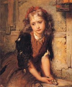 The Dead Goldfinch - George Elgar Hicks - The Athenaeum