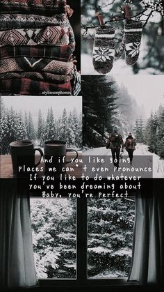Perfect Winter Lockscreen | ctto: @stylinsonphones