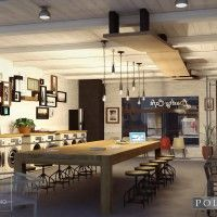 Laundromat Cafe in Places and Things, Structures, Interiors,  3D Models by Daz 3D