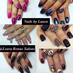 Nails by Laura Soby @Leasa Renae Salons