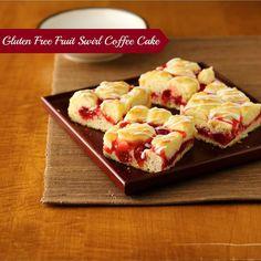 Gluten free fruit coffee cake
