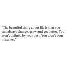 the beautiful thing about life