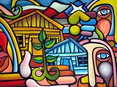 murales del norte argentino muy coloridos - Buscar con Google Graffiti Designs, Graffiti Art, Mural Art, Wall Murals, Victor Jara, Arte Pop, Mexican Folk Art, Art Club, Public Art
