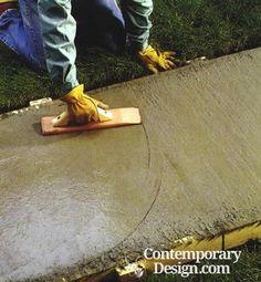 Can you pour concrete over concrete?