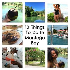 Montego Bay has some pretty amazing sights and there are just a few things you can't leave without doing. Here are my Top 10 Things to Do in Montego Bay.