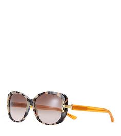 b9e2f2fb5d3f74 Polished and feminine, our Serif-T Rectangle Sunglasses are made of  acetate, with