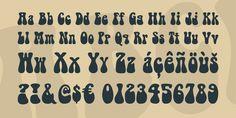 Related image Fancy Fonts Alphabet, Caligraphy Alphabet, Retro Typography, Retro Font, Hippie Font, Organization Bullet Journal, Poster Fonts, Bedroom Murals, Vintage Fonts