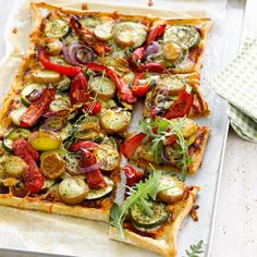 Reall about fun pizza recipes. Polenta Pizza, Polenta Fries, Fun Pizza Recipes, Lunch Recipes, Healthy Recipes, Pizza Buns, Taco Pizza, Pizza Food, Paprika Pizza