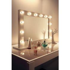 High Gloss White Mirror