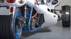 Campagna T-Rex Trike Electric Rear Bmw Engines, Reverse Trike, Tricycle, T Rex, Electric, Scorpion, Technology, Car, Scorpio